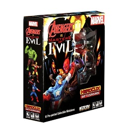 Marvel Heroclix: Battlegrounds: Avengers Vs Masters of Evil
