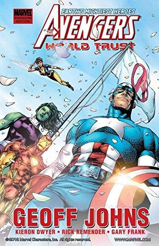 Avengers: World Trust HC - Used