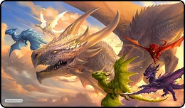 Playmat: Baby Dragons in Flight