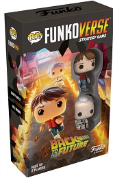 Funkoverse Strategy Game: Back to the Future 100: Marty McFly and Doc Brown