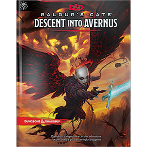 Dungeons and Dragons 5th Ed: Baldur's Gate: Descent into Avernus Adventure HC