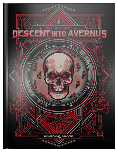 Dungeons and Dragons 5th Ed: Baldur's Gate: Descent into Avernus Adventure (Exclusive Hobby Stores Ed)