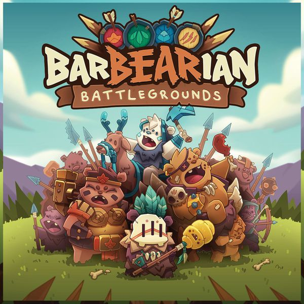 BarBEARian Battlegrounds Board Game