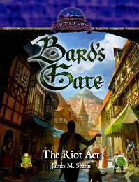 Lost Lands: Bards Gate: The Riot Act - Used