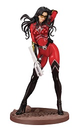 GI Joe Baroness Crimson Strike Team Statue