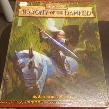 Warhammer Fantasy Roleplay: Barony of the Damned HC - USED