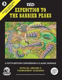 Original Adventures Reincarnated: Expedition to Barrier Peaks