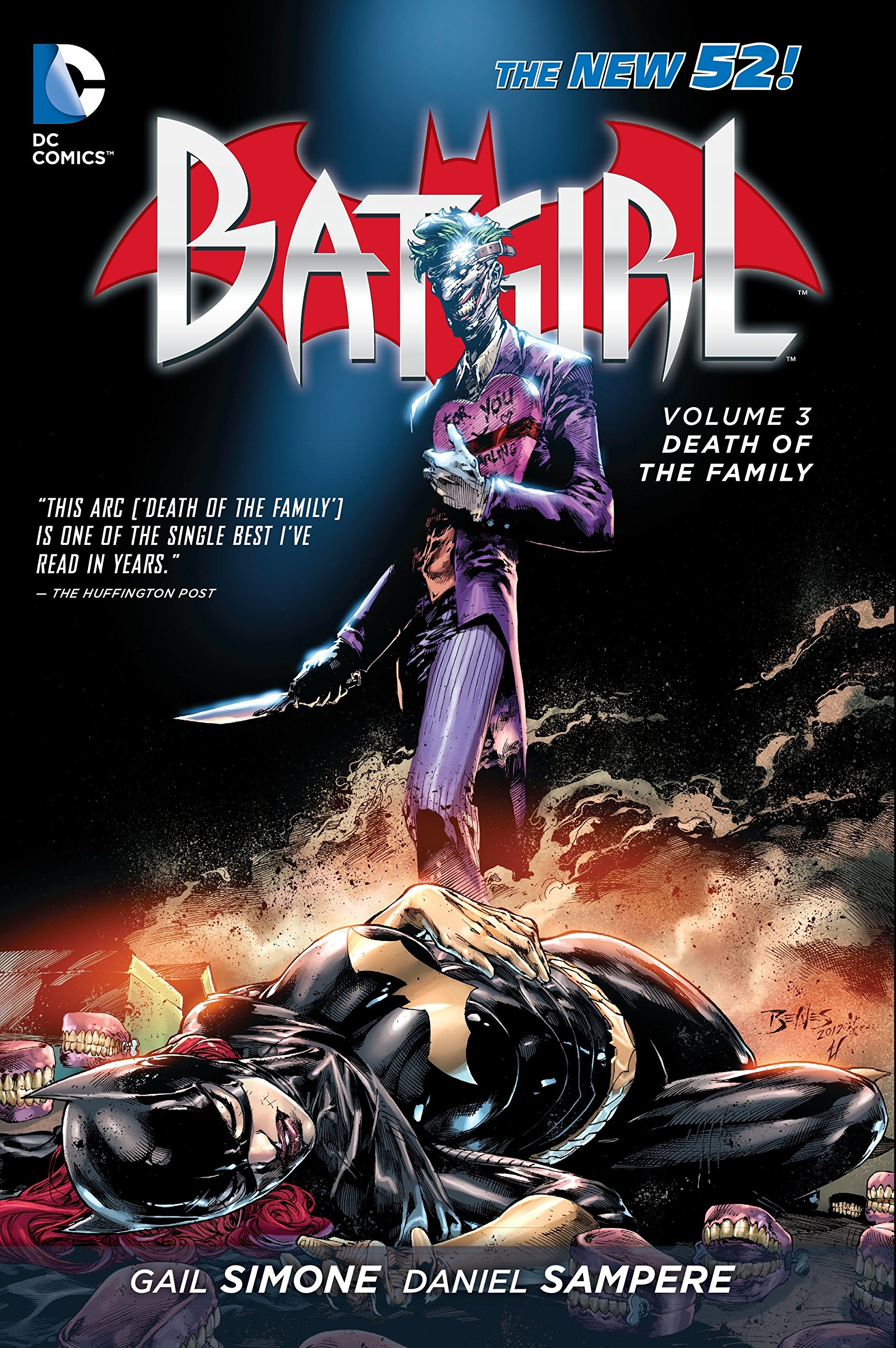 Batgirl: Volume 3: Death of the Family HC - Used