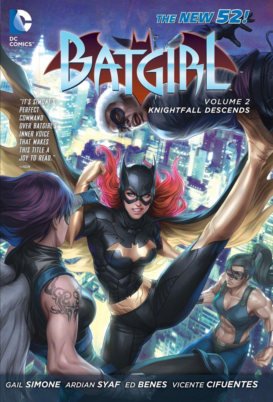 Batgirl: Volume 2: Knightfall Descends HC - Used
