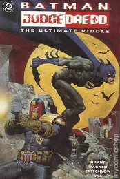 Batman Judge Dredd: The Ultimate Riddle (1995) Prestige Format - Used