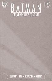 Batman: The Adventures Continue no. 1 (2020 Series) (Blank Variant)