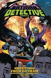 Batman Detective Comics Volume 3: Greetings From Gotham HC