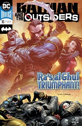 Batman and the Outsiders no. 10 (2019 Series)