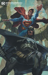 Batman Superman no. 6 (2019 Series) (Card Stock Variant)