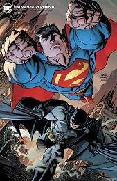 Batman Superman no. 8 (2019 Series) (Card Stock Variant)