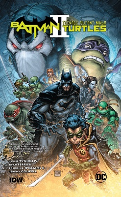 Batman Teenage Mutant Ninja Turtles II HC
