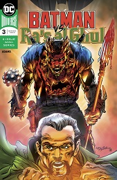 Batman Vs Ras Al Ghul no. 3 (3 of 6) (2019 series)