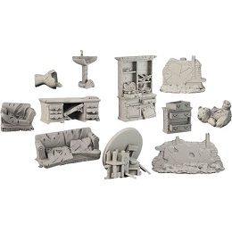 Terrain Crate: Battle-Damaged House