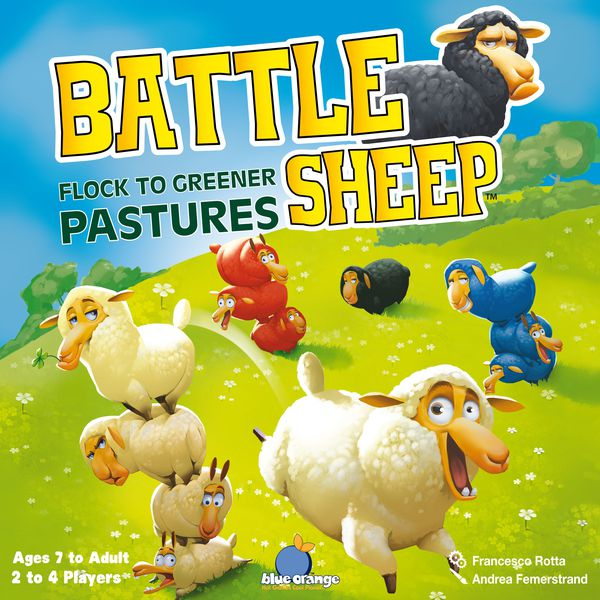 Battle Sheep Board Game