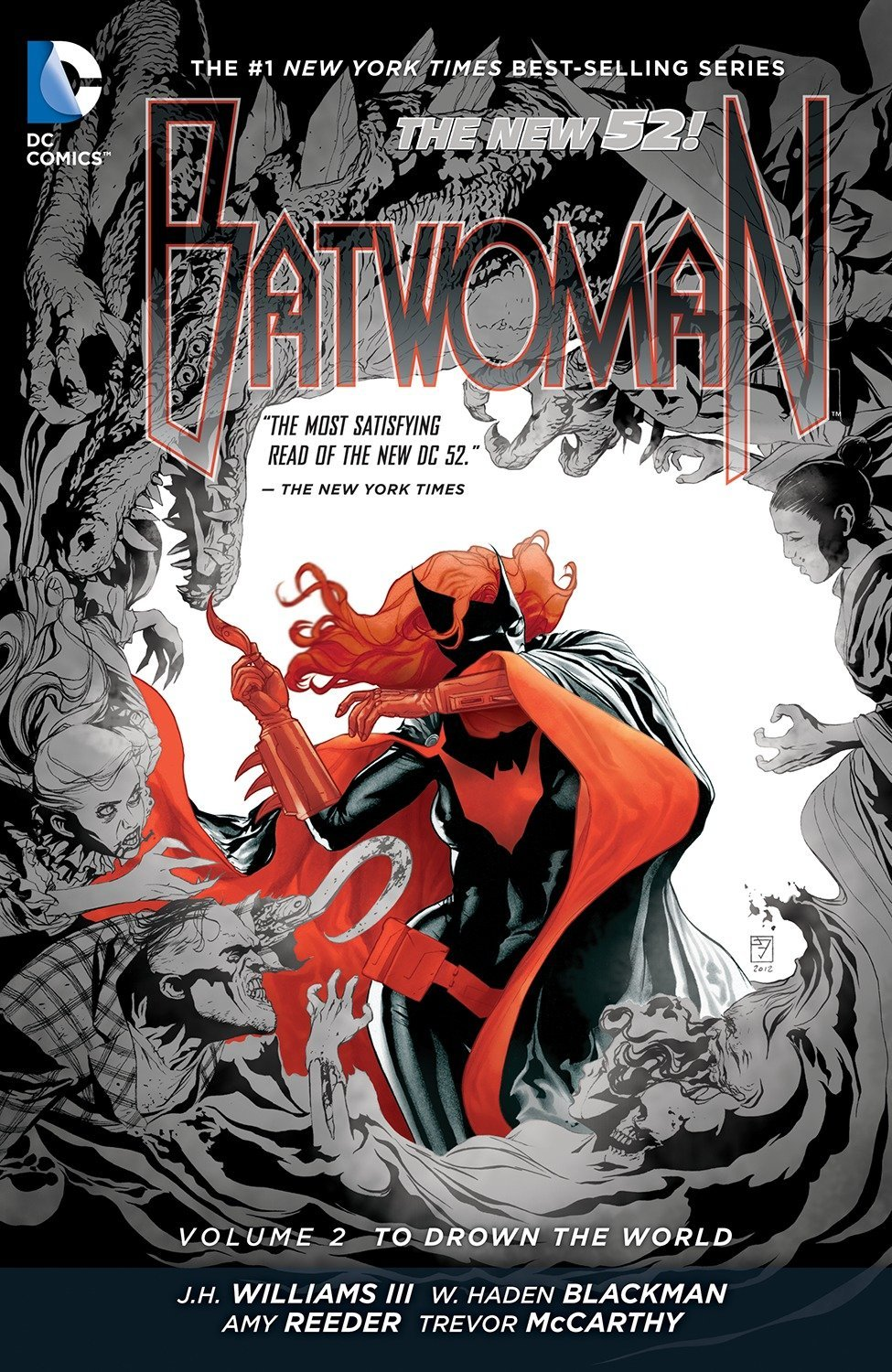 Batwoman: Volume 2: To Drown the World HC - Used