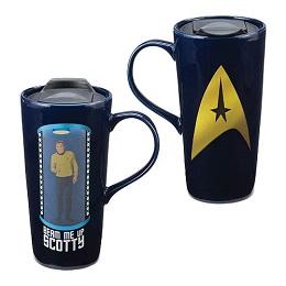 Star Trek Beam Me Up Heat Reactive 20 oz. Ceramic Travel Mug