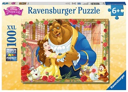 Belle and Beast Puzzle - 100 Pieces