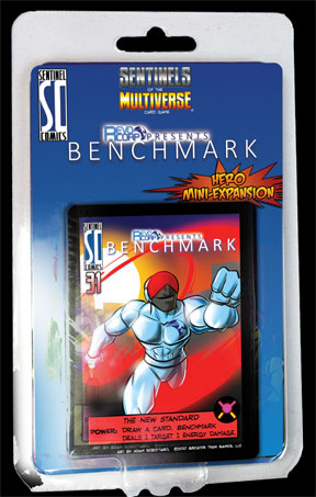 Sentinels of the Multiverse Card Game: Benchmark Mini-Expansion