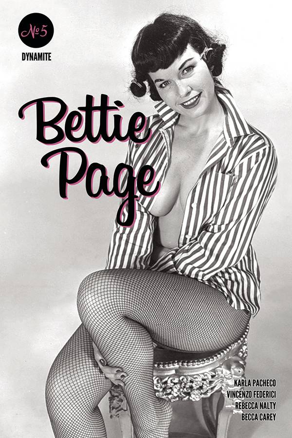 Bettie Page no. 5 (Photo Cover) (2018 Series) (MR)