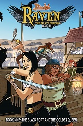 Princeless Raven The Pirate Princess Volume 9: The Black Fort and the Golden Queen