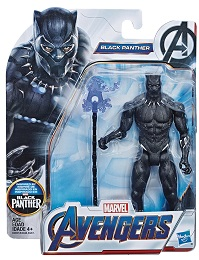 Avengers 6 Inch Action Figure: Black Panther