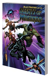 Black Panther and the Agents of Wakanda Volume 1: Eye of the Storm TP