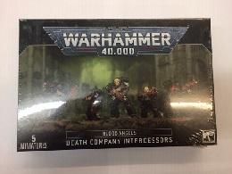 Warhammer 40K: Blood Angels: Death Company Intercessors 41-22