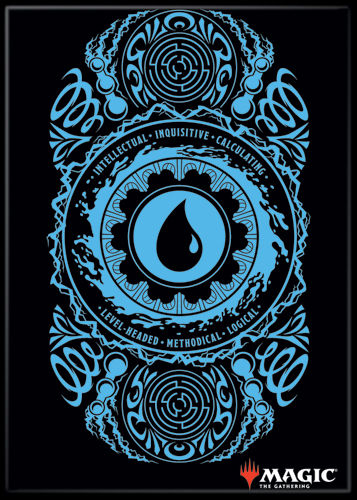 Magic the Gathering Magnet 2.5 X 3.5: Blue Mana Symbol