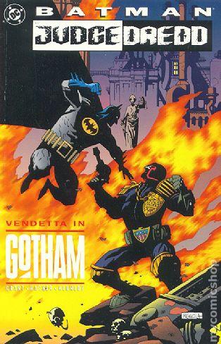 Batman Judge Dredd: Vendetta in Gotham (1993) Prestige Format - Used