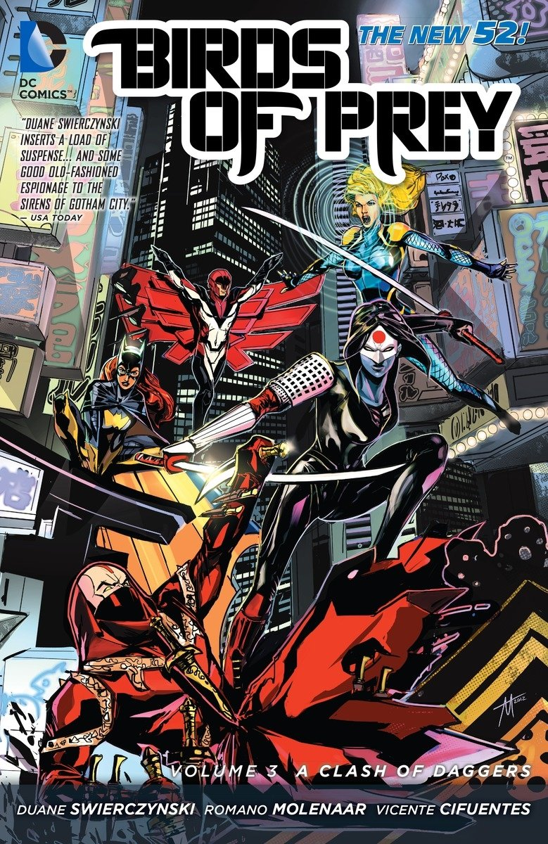 Birds of Prey: Volume 3: A Clash of Daggers TP - Used