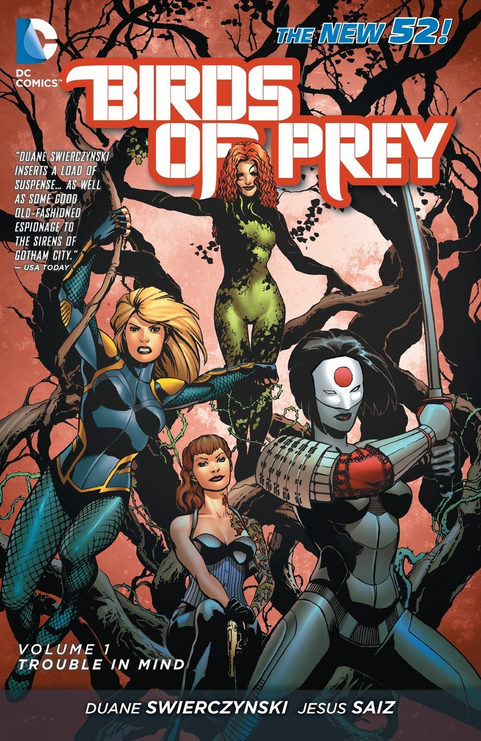 Birds of Prey: Volume 1: Trouble in Mind TP - Used