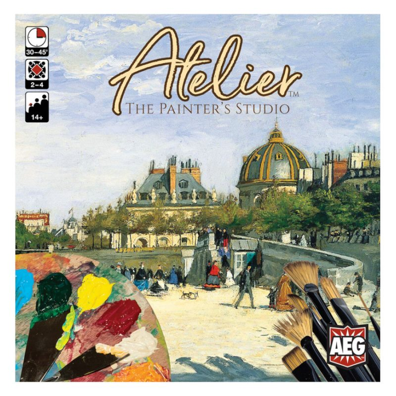 Atelier: The Painters Studio Board Game