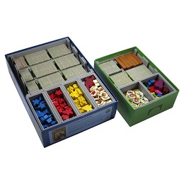Folded Space: Box Insert: Carcassonne, Inns and Cathedrals, Traders and Builders, The Princess and Dragon, The Tower, Abbey and Mayor