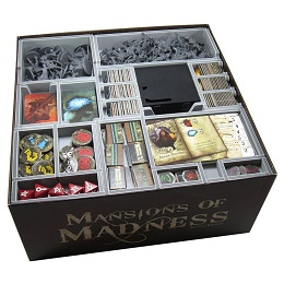 Folded Space: Box Insert: Mansions of Madness 2nd Edition and The Beyond Expansions
