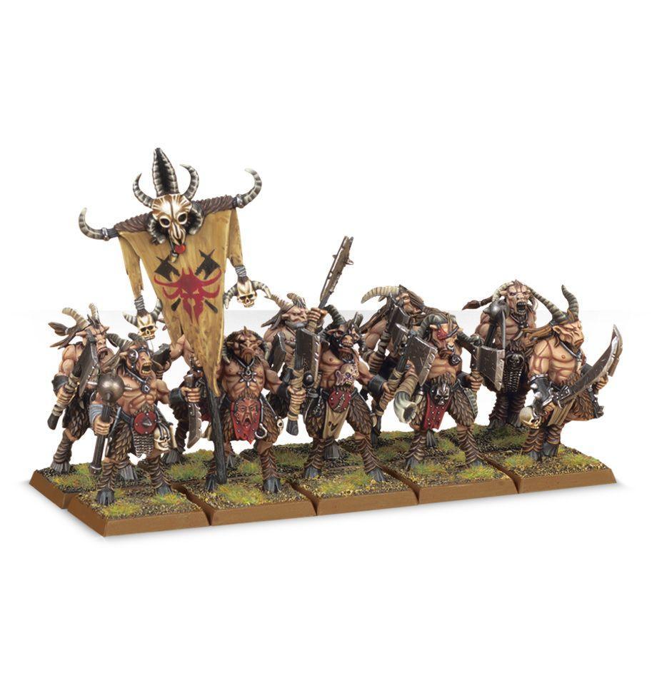 Warhammer: Age of Sigmar: Brayherd Gors 81-08