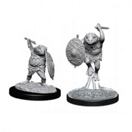 Dungeons and Dragons: Nolzur's Marvelous Unpainted Miniatures Wave 12: Bullywug