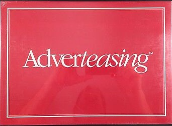 Adverteasing 1st Edition Board Game - USED - By Seller No: 72 Bill Korsak