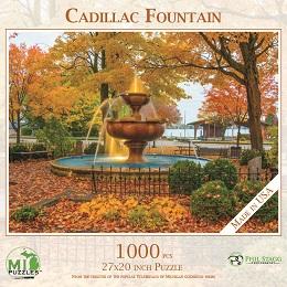 Cadillac Memorial Fountain Puzzle (1000 Pieces)