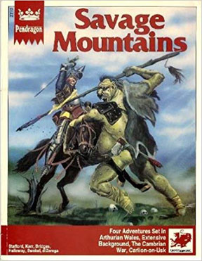 Pendragon Role Playing: Savage Mountains - USED