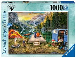 Calm Campsite Puzzle - 1000 Pieces
