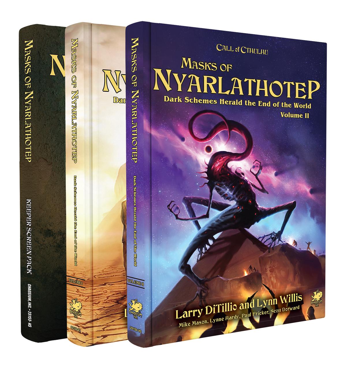 Call of Cthulhu: Masks of Nyarlathotep Slipcase Set