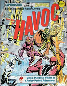 Superworld / Villains and Vigilantes / Champions: Trouble for HAVOC - USED