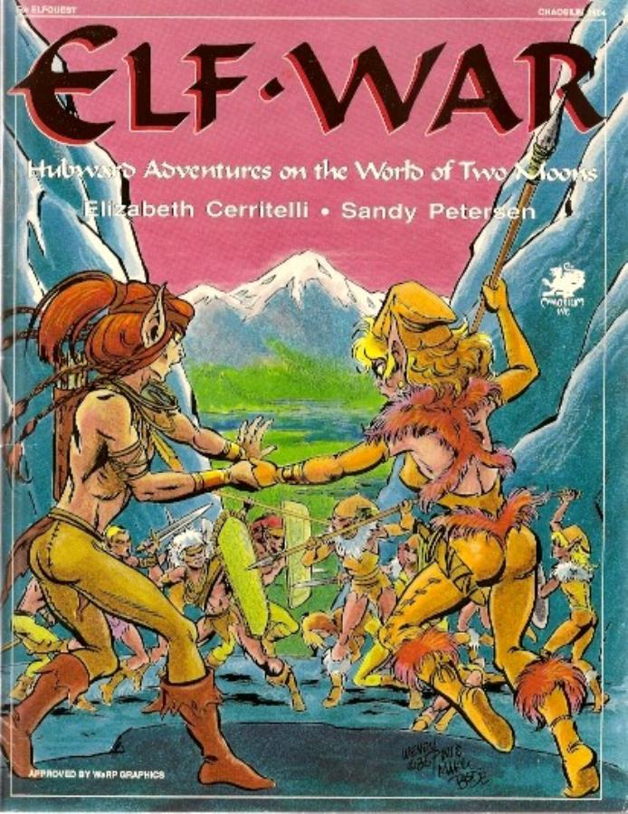 Elfquest Role-Playing Game: Elf War - Used