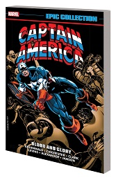 Captain America Epic Collection: Blood and Glory TP