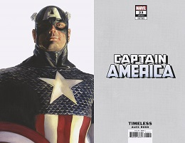 Captain America no. 23 (2018 Series) (America Timeless Variant)